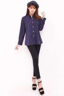 Adelle Collar Blouse