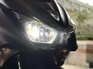🚚 Yamaha Force 155 近/遠燈 H7 LED