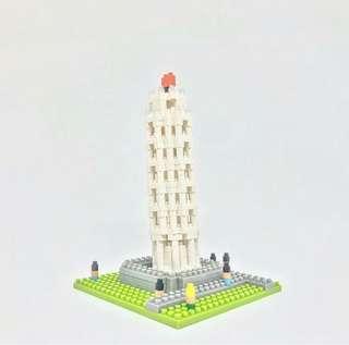 Nanoblock NBH_030 Torre di Pisa Italy