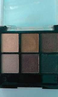 Bh 6 color eyeshadow palette #GayaRaya