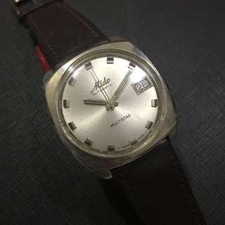 Vintage Mido Multistar Watch