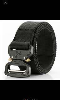 Cobra Buckle Black Belts Polyester Nylon Army Military Tactical Belt ( instock)