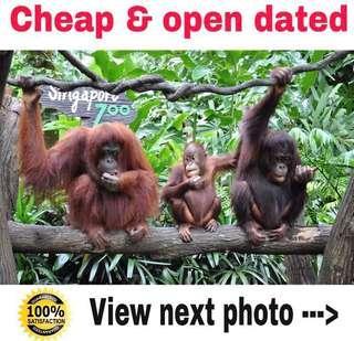 Singapore Zoo Cheap Tickets