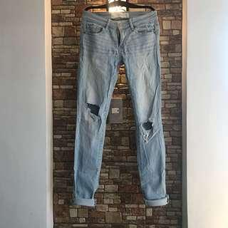 A&F Ripped Mom jeans