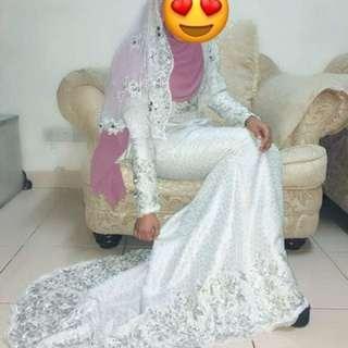 Baju pengantin songket