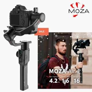Moza Air 2 Camera Stabilizer- Ready Stock! Local 1 Year Warranty! Fast Delivery!