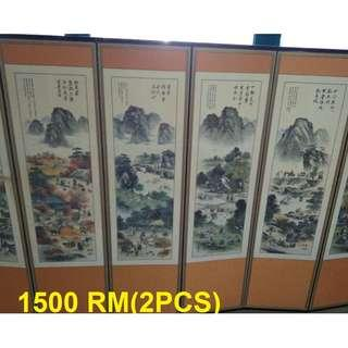 chinese hand made portion wall