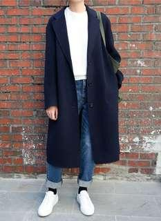 Long Black Trench / Jacket Autumn