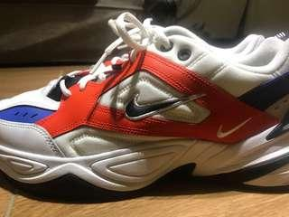 Nike m2k daddy shoes 老爹鞋 藍橘配色
