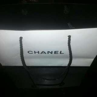 Chanel Paper Bag & Ribbon