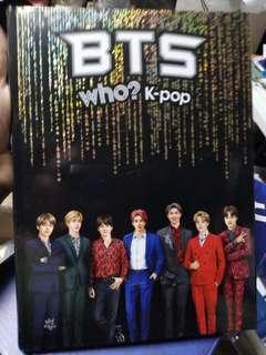 BTS Comic Book