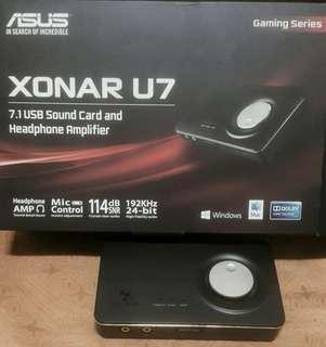 Asus Xonar U7 UAB外接音效卡 7.1聲道