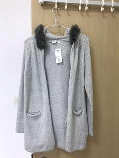 H & M 全新灰色外套