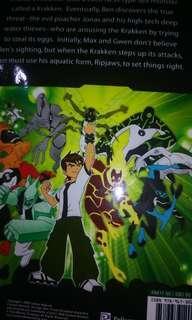 Full colour page Ben 10 comics