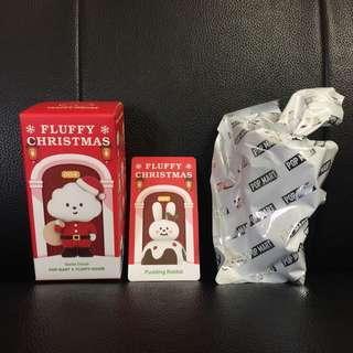 (購買或交換) Fluffy House x Mr White Cloud Mini Figures Series 4 — Pudding Rabbit 🍮🐰
