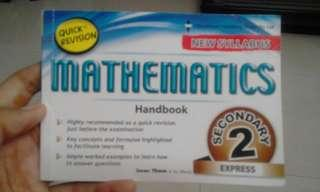 Sec 2 Math Quick Revision Handbook