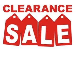 Clearance SALE!!! Just search #csale