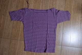 Uniqlo Stripe Blouse