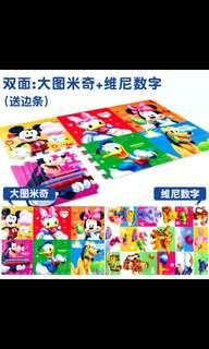 BN disney double sided baby play mat