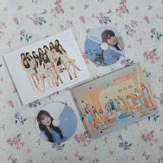 IZ*ONE Nako Color & Rose CD Plate