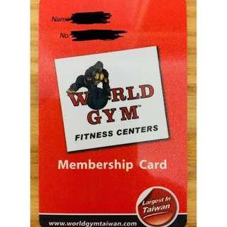 World Gym 12個月會員轉讓 月費1088元 可轉Sport大直店、北新莊店、永和店、新竹巨城店
