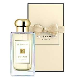 Brand New Jo Malone London LIMITED Edition White Moss & Snowdrop Cologne Perfume 100ml - Sold out in many places!