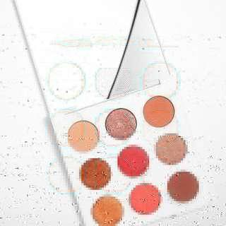 [READY STOCK] COLOURPOP SOL PALETTE  Can you feel the heat? This hot coral 9-pan shadow palette is full of vibrant orange, pink, and copper shades perfect for the warm-tone lover.