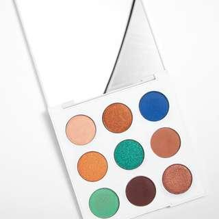 [READY STOCK] COLOURPOP MAR PALETTE  You're so wavy. This teal and bronze 9-pan shadow palette is a colour lover's dream!