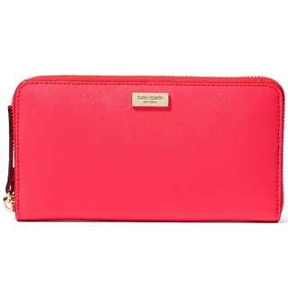 BNWT AUTHENTIC Kate Spade Kate Spade Newbury Lane Neda Wallet in Geranium