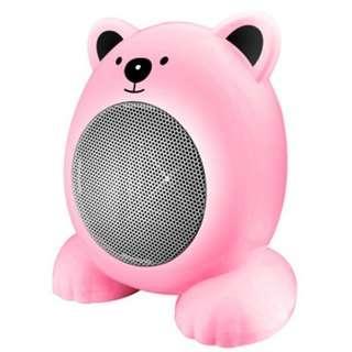可愛熊迷你電暖氣