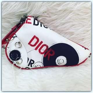 Dior Mini Saddle Hardcore Limited Edition w/ Extra Fun Strap #diorbag#diormini#diorsaddle#diorminisaddle#diorhardcore#diorlimitededition#secondbranded#authentic#authenticbag