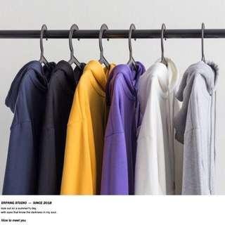 Unisex casual hooded jacket