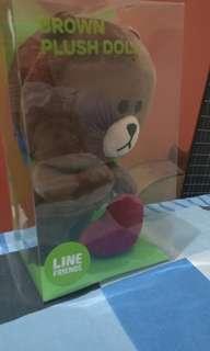 Boneka Brown Line