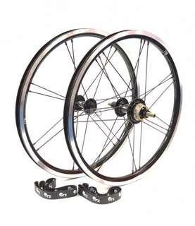 ORZ 3s lightweights wheel set for Brompton