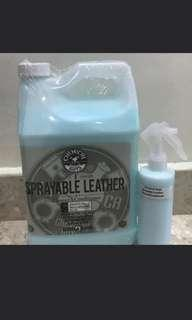 Chemical Guys 2 in 1 leather cleaner and conditioner