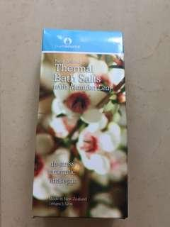 Thermal bath salt from New Zealand