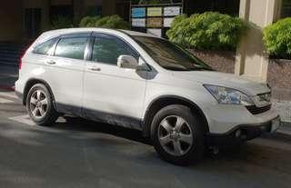 Honda CRV SUV Gas 2008, Taffeta White
