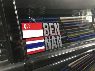 Flag decal available