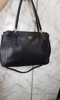 Coach Saffiano leather tote crossbody Bag