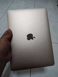 macbook 12 inch 2016 gold 256gb/8gb mlhe2