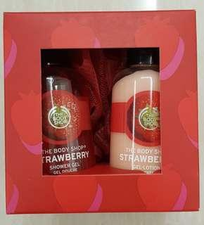 Body Shop 60ml Shower Gel and Body Lotion
