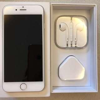 Reduced! Good Buy! Preloved iPhone 6 Silver 64 GB Mobile Phone