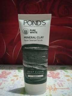 Pond's Pure White Mineral Clay Charcoal