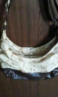 Coach sling bag adjustable original Nego
