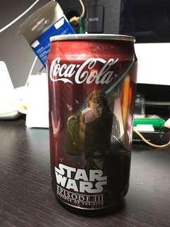 (珍藏)2005 星球大戰特別版可樂 Star Wars Coca Cola