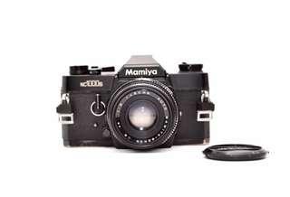 Mamiya NC 1000s with Mamiya-Sekor CS 50mm f2: See sample photos
