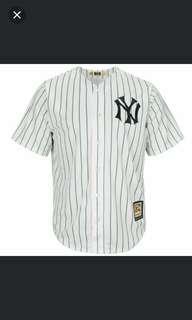 Pre-Loved NY Baseball Jersey Shirt / Free Size