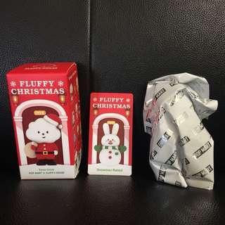 (購買或交換) Fluffy House x Mr White Cloud Mini Figures Series 4 — Snowman Rabbit ⛄️🐰