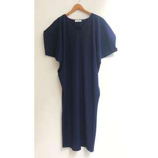 SHOPATVELVET- Batwing Long Dress
