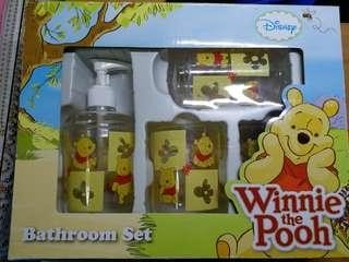 Winnie The Pooh 小熊維尼 浴室套裝